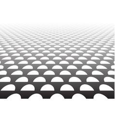 half circles pattern vector image