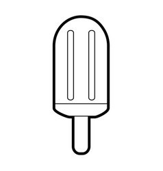 Ice cream bar sign vector