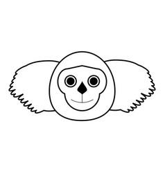 koala draw vector image