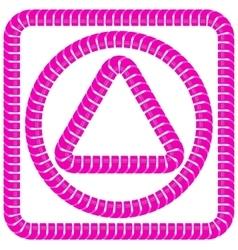 Pink Frames vector