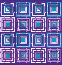 Purple mosaic pattern vector