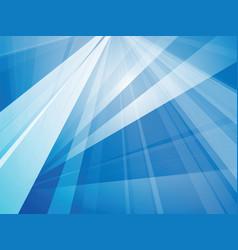 trendy blue geometric background vector image