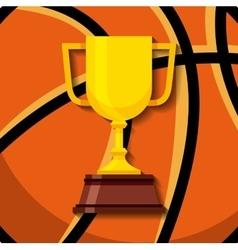 Trophy award design vector
