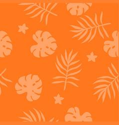 tropical seamless texture vector image