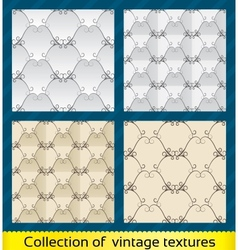 Seamless abstract vintage pattern vector image vector image