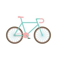 Classic bike vector image vector image