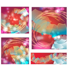Abstract background with books vector