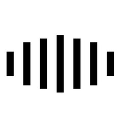 Digital signal black color icon vector