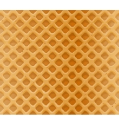 seamless pattern delicious waffles vector image