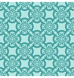 turquiose seamless pattern vector image
