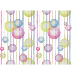 watercolor abstract seamless pattern vector image