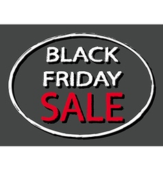 Black Friday Sale sign stamp style vector image vector image