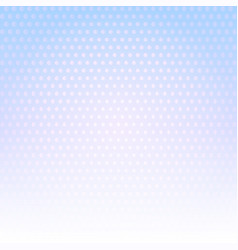 pale blue dotted background vector image