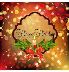 holiday mix vector image