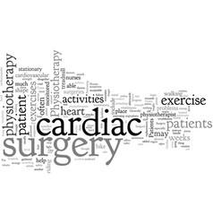 Cardiac surgery vector