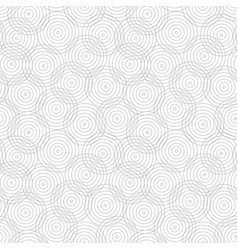 Circles geometric pattern - seamless vector