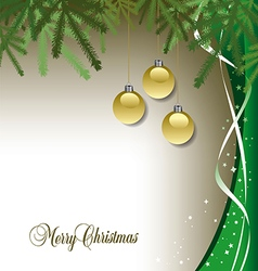 Classic Christmas background vector