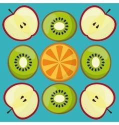 Fruits icon design vector image