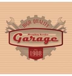 Garage icon design vector