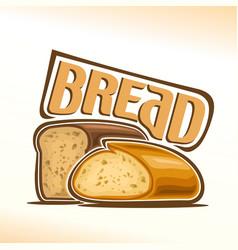 Logo of bread vector