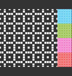 monochrome repeatable pattern with structure of vector image