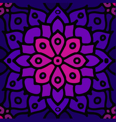 purple abstract seamless mosaic ornament vector image