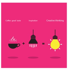 The good idea concept vector image