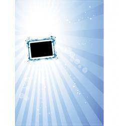 art frame vector image vector image