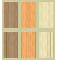 Seamless wooden backgrounds vector image vector image