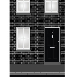 Residential House vector image vector image