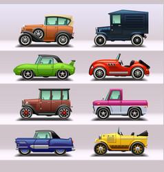 car icon set-9 vector image vector image