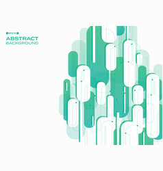 abstract of vertical technology gradient green vector image