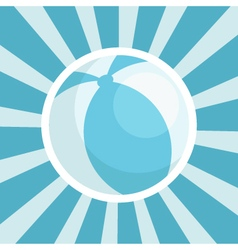 Baby shower ball icon vector