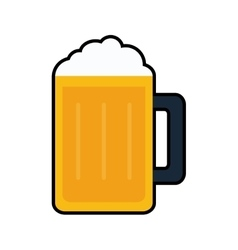 Beer drink alcohol icon graphic vector
