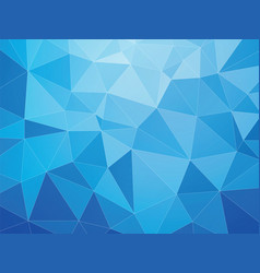 blue geometric abstract pattern with white lines vector image