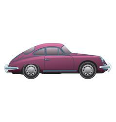 Porsche-356-1964 side view vector