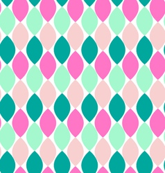 Retro style abstract seamless pattern vector image