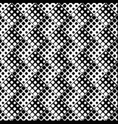 rounded square pattern background - monochrome vector image