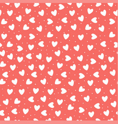 seamless pattern with ehite hand-drawn simple vector image