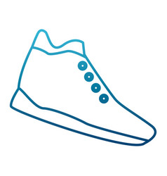 sport shoe isolated vector image