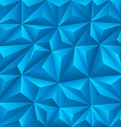Abstract background of different geometric figures vector image vector image