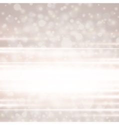 Lens flare light background vector image vector image