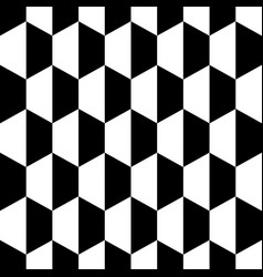 black white honeycomb hexagon seamless background vector image vector image