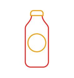 bottle juice drink market product element vector image vector image