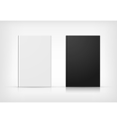 Black And White Book Covers vector image