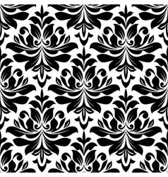 Bold seamless arabesque pattern vector