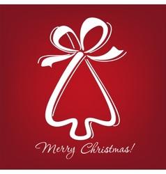 christmas-tree vector image