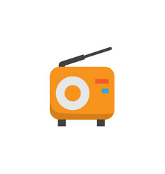 Fm flat icon symbol premium quality isolated vector