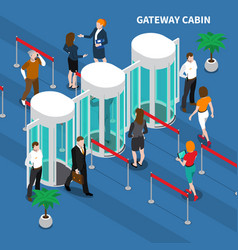 Gateway cabin access identification composition vector