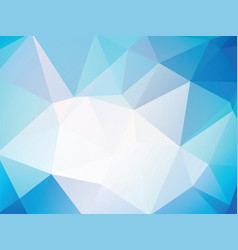 geometric blue background texture vector image